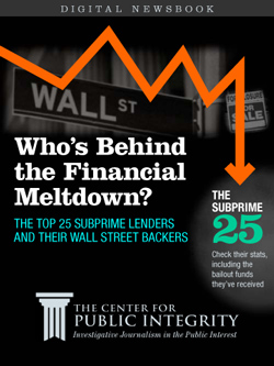 Who's Behind the Financial Meltdown?: The top 25 subprime lenders and their Wall Street backers